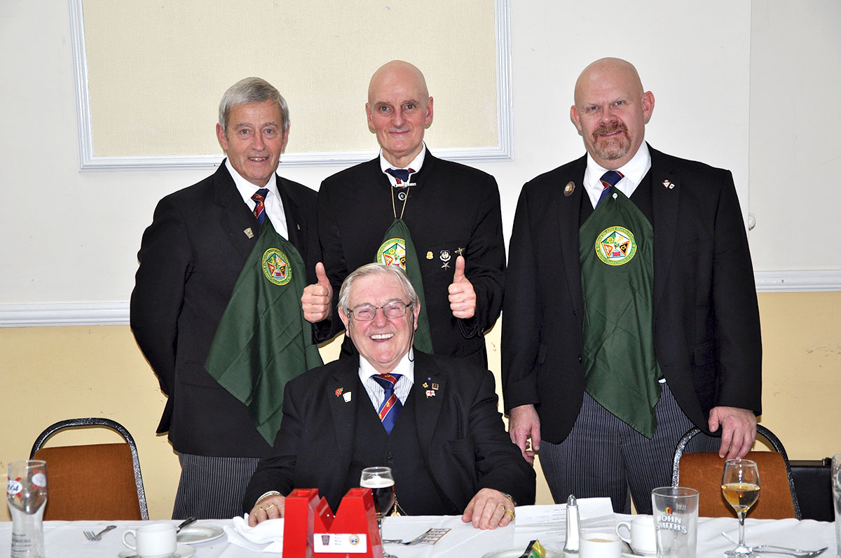 Flying the flag at Comites Sigillorum Mark Lodge